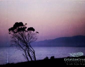 Ocean, Pacific Ocean, Santa Barbara, Beach, Sky, Sunset, California, Summer, Landscape, Photographic Print, Kristine Cramer Photography