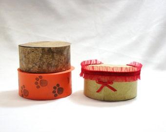 DIY Box, Gift Box, Paper Box, Box Template, Printable Gift Box, Round Box