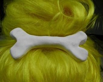 Big Bone Hair Clip, Cave Woman Costume. Bone, Hair, Accessory, Pebbles, Goth, Kawaii