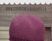 Is It Knit? Crochet Hat Pattern - (Sizes: infant to adult large) - Photo & Video Tutorials available on blog