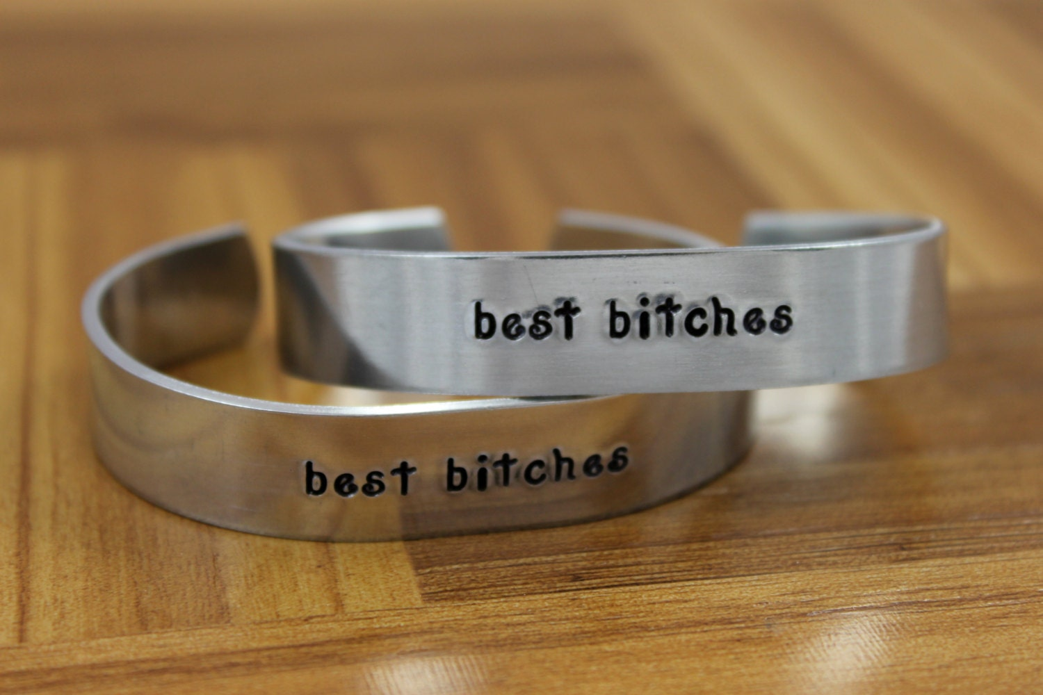Exceptionnel Best Bitches bracelet set / Best Friend Gift / Gift for Best KW87