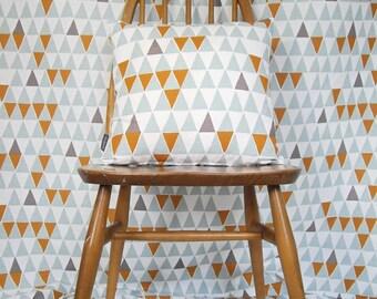 Swedish Scandinavian fabric - Per metre - Spira Jaffa Blue