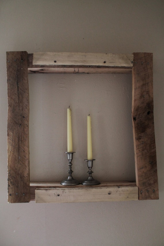 Rustic Frame Shelf