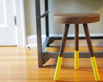Dining Stool - Black Walnut
