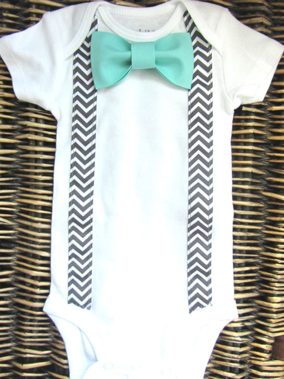 Baby boy clothes boys bow tie tuxedo shirt by sewlovedbaby for Baby shirt and bow tie
