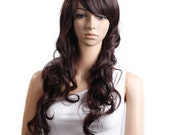 Halloween Special !!!!  Wig Brown Long Wig Cosplay Hair Wig This is High temperature silk