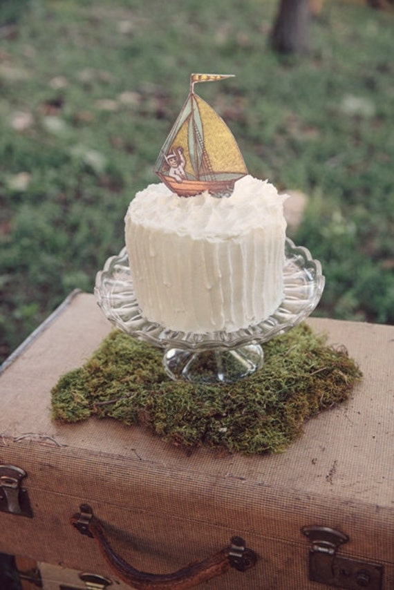 Cake Topper Where The Wild Things Are By Prettyyourpartyshop