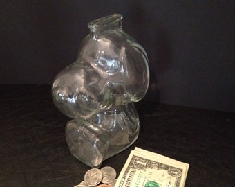 Collectable Snoopy Piggy Doggy Bank Peanuts