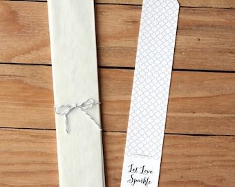 Wedding Sparklers / Sparkler Send Off / Sparkler Holders / Wedding Printable / Let Love Sparkle / Wedding DIY / Wedding PDF / PDF Sparklers