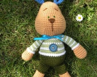Crochet pattern - Farrel the Bunny