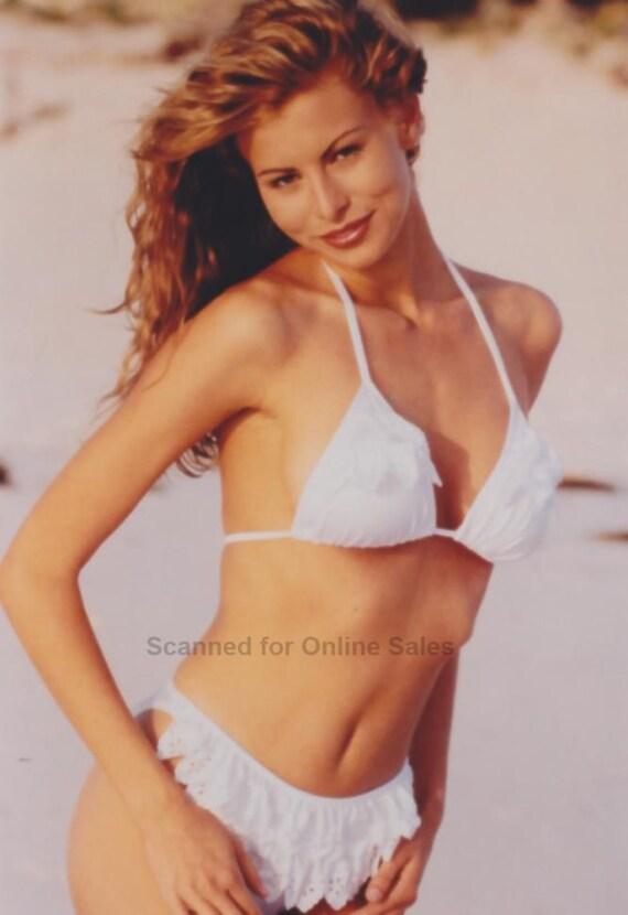Jessica Biel White Bikini 47