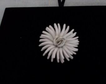 Enamel Flower Pin / Brooch