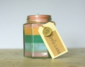 Rainbow Jar Soy Candle. Multi scented.