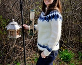 Warm and soft 100% Icelandic wool sweater - MADE TO ORDER.