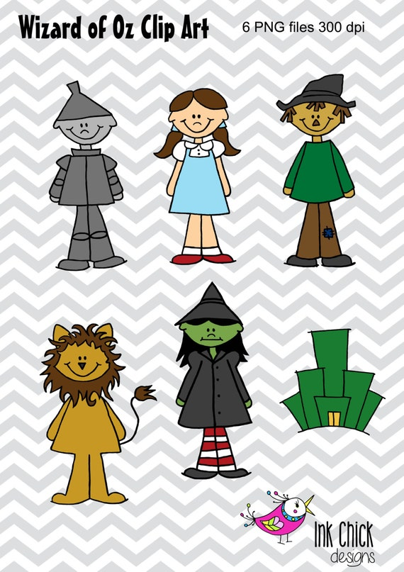 Items similar to Wizard of Oz Clip Art on Etsy