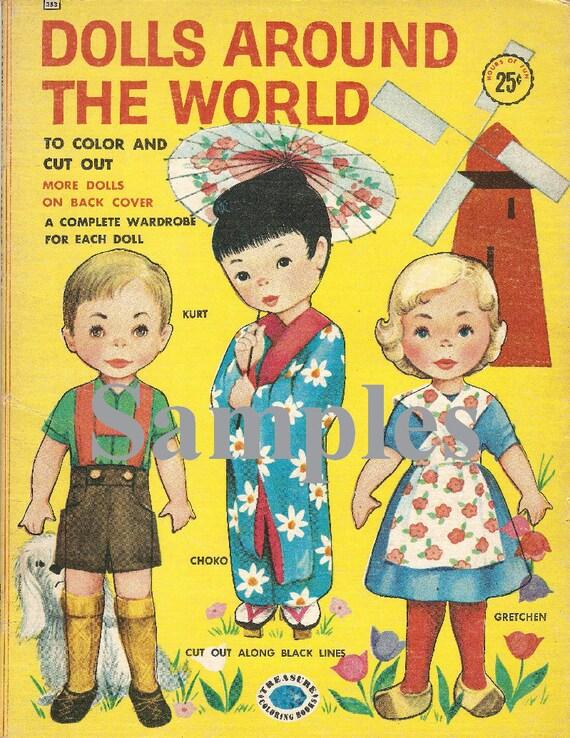 Vintage Dolls of The World Dolls Around The World