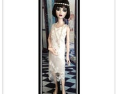 Evangeline Ghastly Dress Sewing Pattern PDF - 1920's Gatsby Style Doll Dresses