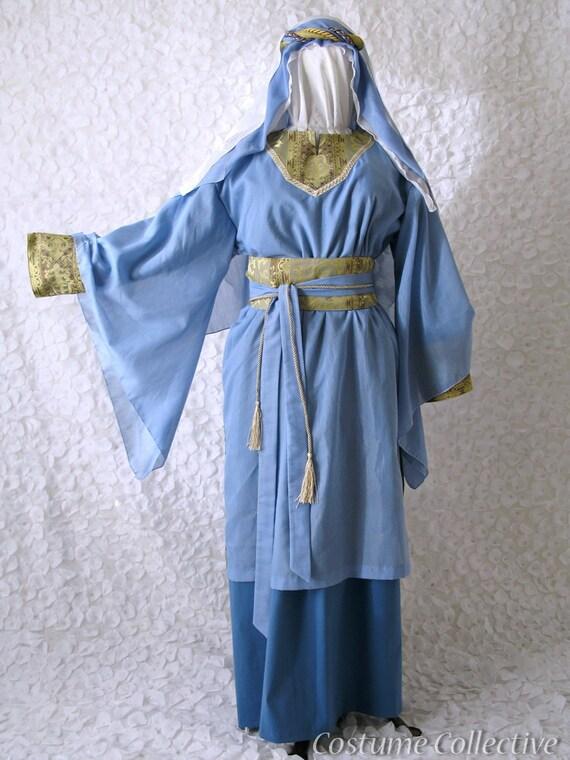 Christmas Nativity Virgin Mary Costume