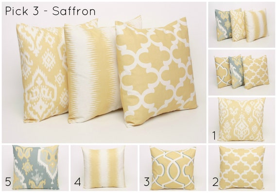 Pale Yellow Throw Pillow Cover : My Favorite Room and Dimensions Home Decor My Healthy Happy Home