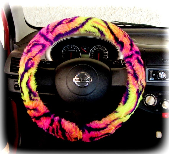 Steering wheel cover bow wheel car accessories lilly by coverwheel Interior car accessories for girls