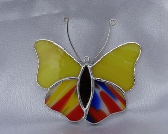 Little ButterflyTiffany Style Stained Glass Suncatcher