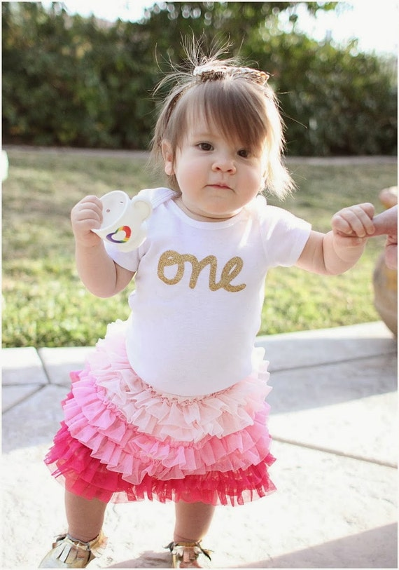 "First Birthday ""one"" Bodysuit"
