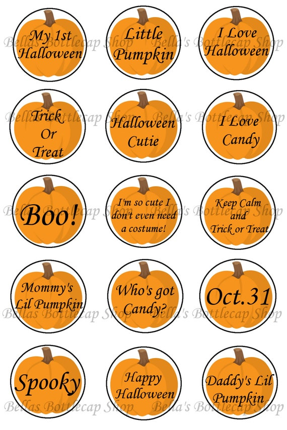 Items Similar To Cute Halloween Phrases And Sayings