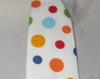 Baby Boy/ Toddler Multi Dot Tie.  Great for First Birthday or Cake Smash.