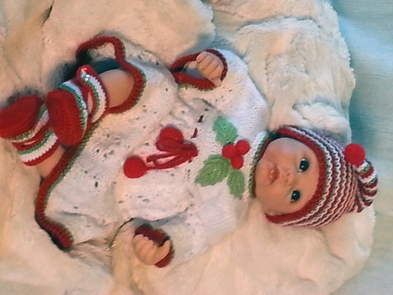 Baby s First Christmas Heirloom Dress Hand by LubbiesStitches