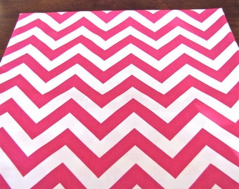 PINK TABLE RUNNER 12 x 48 Pink Chevron Table Runners Wedding Showers Decorative Pink Chevron Table Runner 48 60 72 84 96