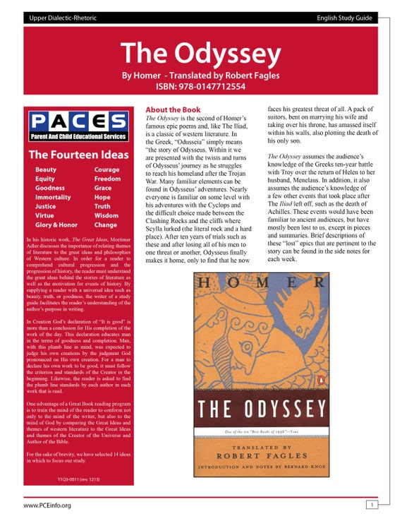 the odyssey study guide books 1 8 Essays & papers the odyssey study guide (books 1-8) essay - paper example the odyssey study guide (books 1-8) essay - part 8 a - the odyssey study guide (books 1-8) essay introduction.