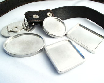 Blank Belt Buckles, Make Your Own Custom Belt Buckles SKU#SUP0001