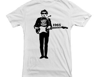 Bob Dylan T-shirt 1965 Newport Folk Festival