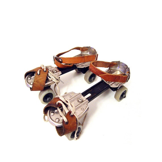 Roller Skates from 70's. by AMUARA on Etsy