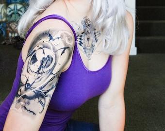 Nightmare Temporary Tattoo