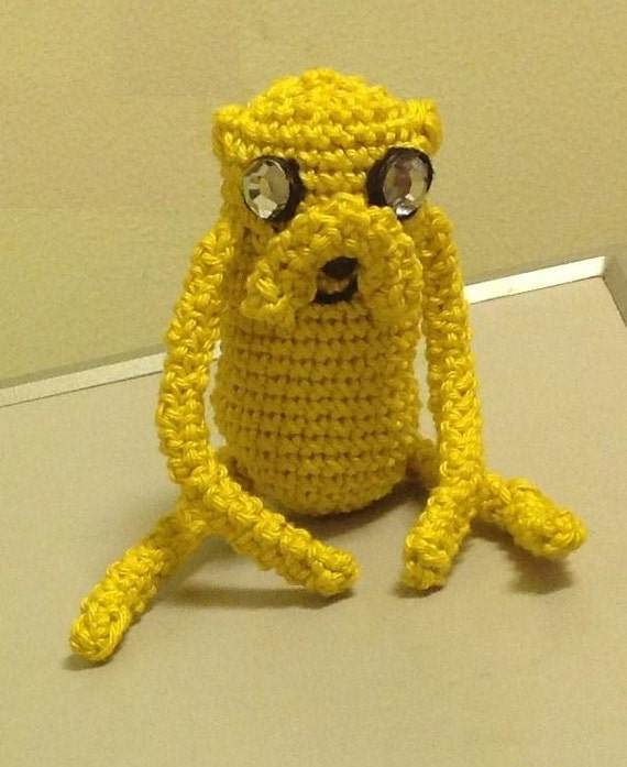 Adventure Time Jake Amigurumi Pattern : Jake the Dog Adventure Time Amigurumi Pattern/ Stuffed toy