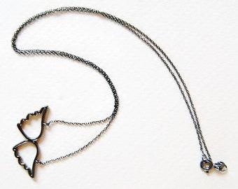 Angel Wings, Wings Necklace, Silver Angel Wings, Wings jewelry