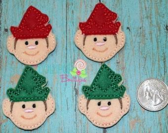 Elf Felties - Elf Felt Pieces - Elf Felt Embellishments