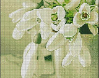 "Cross stitch pattern PDF ""Spring"""