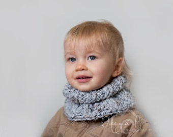 Knitting Pattern For Toddler Neck Warmer : Download crochet pattern 029 Chunky ribbed cowl neck