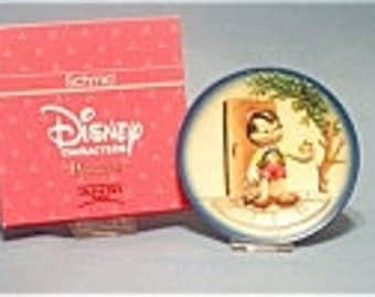 Vintage  Anri Toriart Handcrafted Disney PINOCCHIO '50th Anniversary' Wood Ltd. Ed.Collector Plate in Original Box with Certificate - 1989