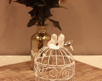 Mini birdcage centerpieces - photo#19