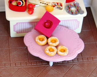 1/12 scale egg donut eggtart Mold/Mould1 for Resin, Polymer clay & Air dry Clay 1,2 cm diameter x 0,5 cm height