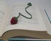 Petite Strawberry Bookmark