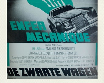 Vintage Collectible Film Poster - The Car (1977)