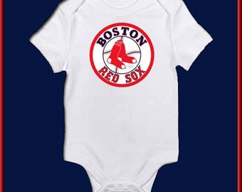 Red Sox Custom bodysuit