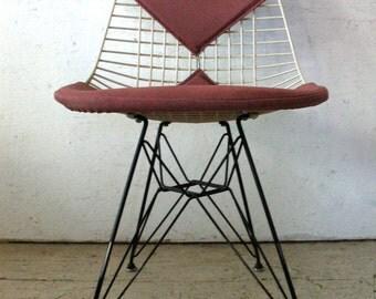 Herman Miller Eames Bikini Chair Eiffel Tower Chair, original eames DKR-2 chair