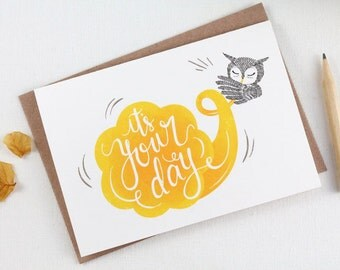 It's Your Day - 10 Greeting Cards