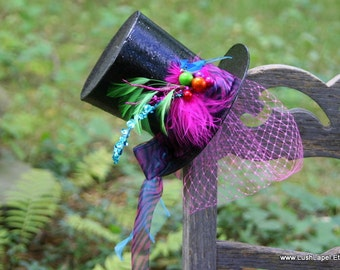 Large Mad Hatter Fascinator DIY Kit - Easy Halloween Fun