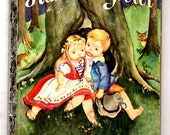 1950's Vintage Hansel and Gretel A Little Golden Book by the Brothers Grimm